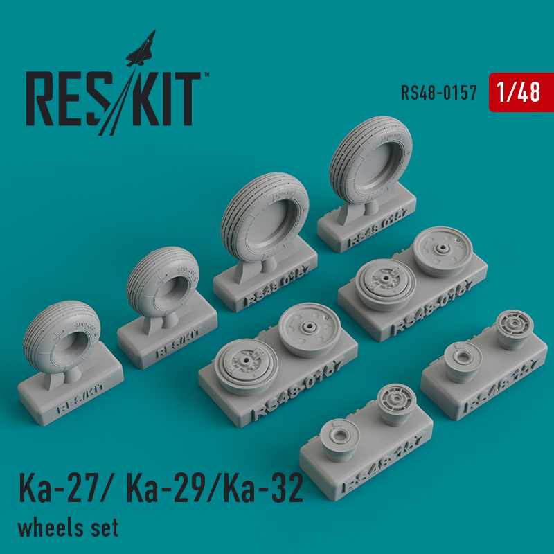 Ka-27/Ka- 29/Ka-32 wheels set RS48-0157