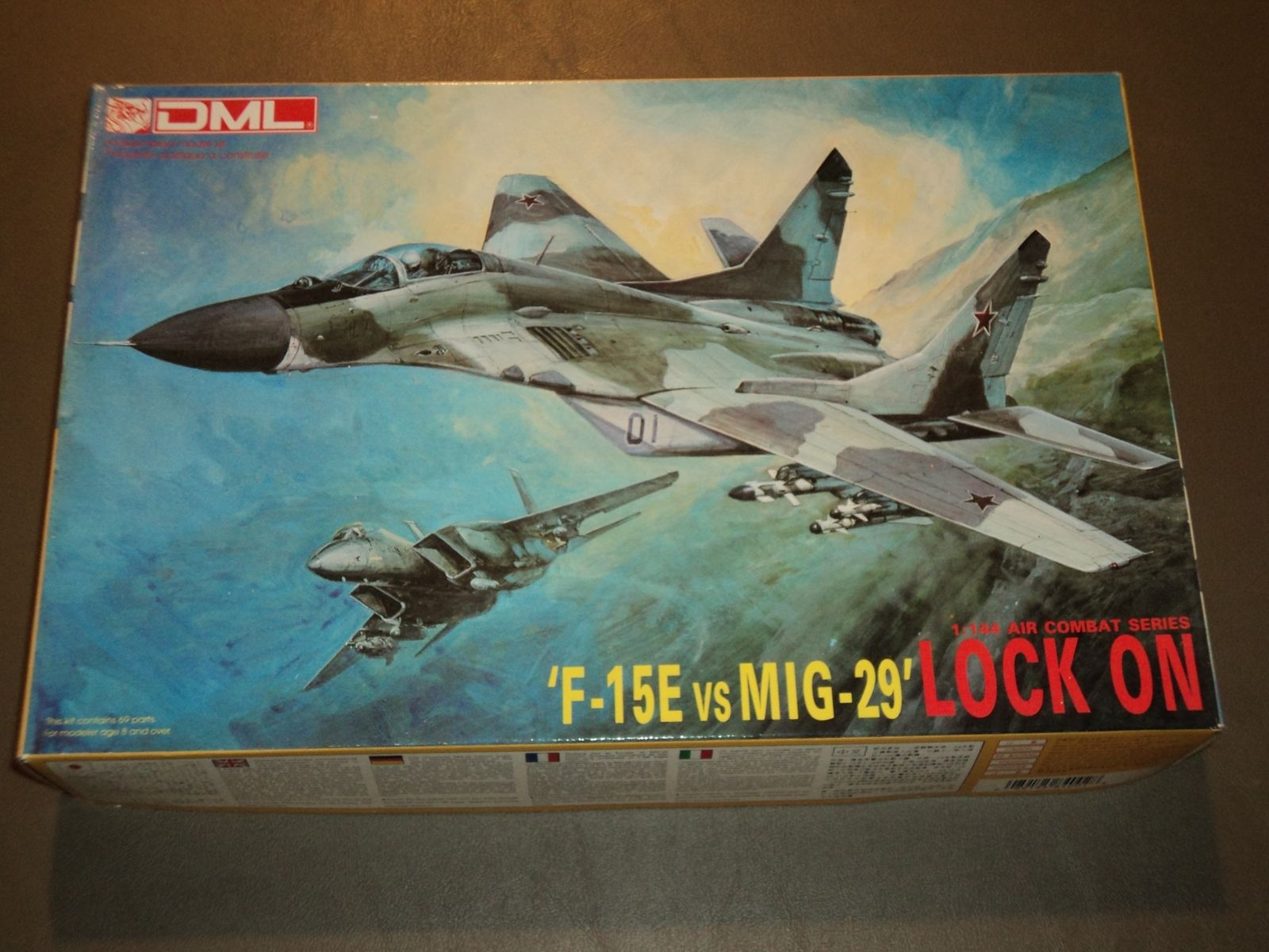 F-15E vs Mig-29 Lock On
