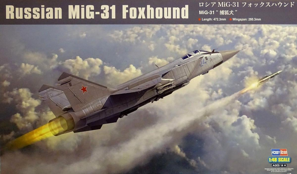 Russian MiG-31 Foxhound