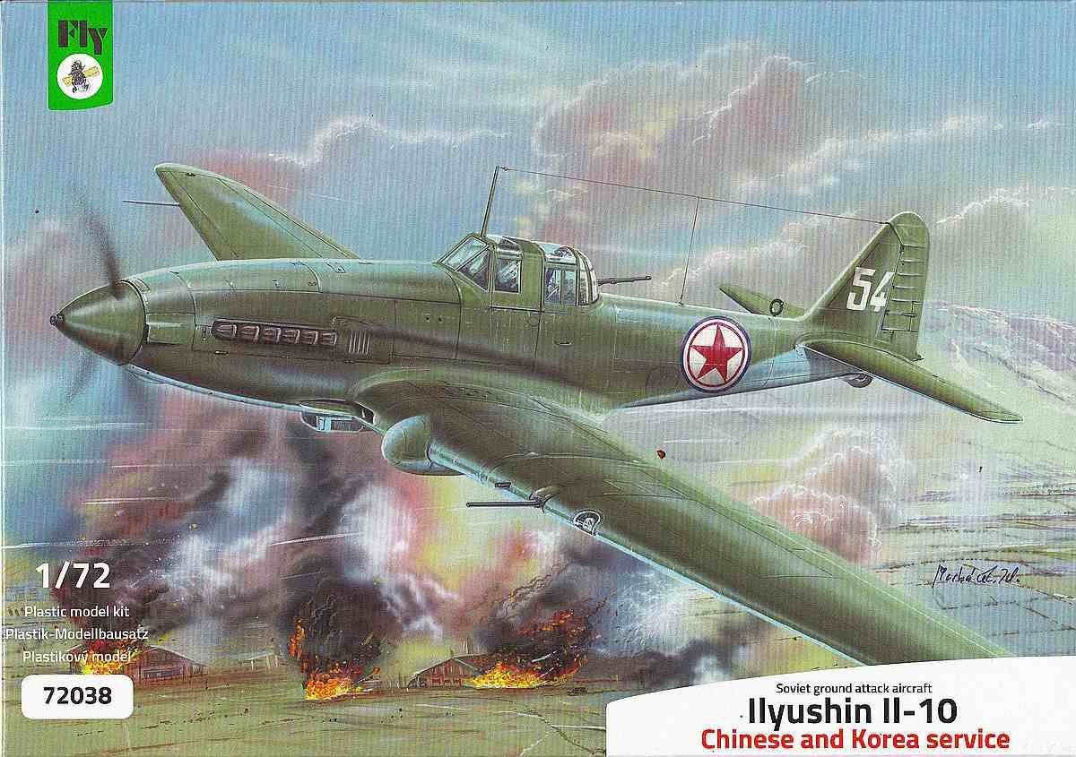 Ilyushin Il-10 China, Korea